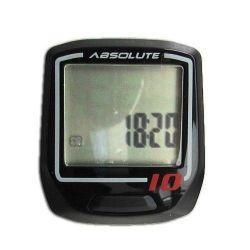 Velocímetro Ciclocomputador Absolute Irix 10 C/ Fio PTO